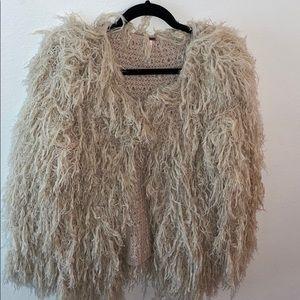 Free people fuzzy jacket